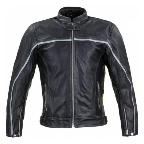 Kožená moto bunda W-TEC Mathal Farba čierna