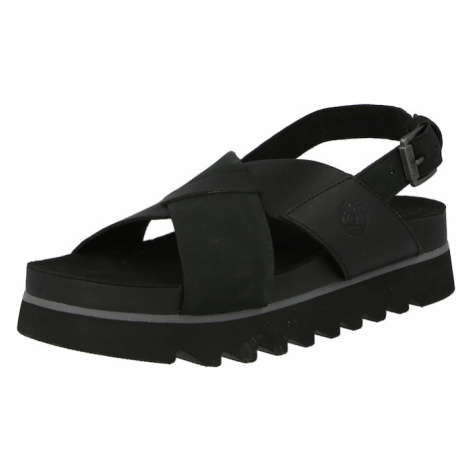 TIMBERLAND Remienkové sandále 'SantaMonica Sunrise'  čierna