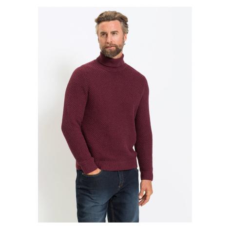 Rolákový pulóver Regular Fit