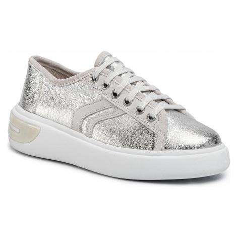 Sneakersy GEOX - D Ottaya E D92BYE 000CF C0628 Silver/Off Wht