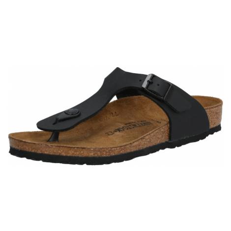 BIRKENSTOCK Sandále 'Gizeh Kids BF'  čierna