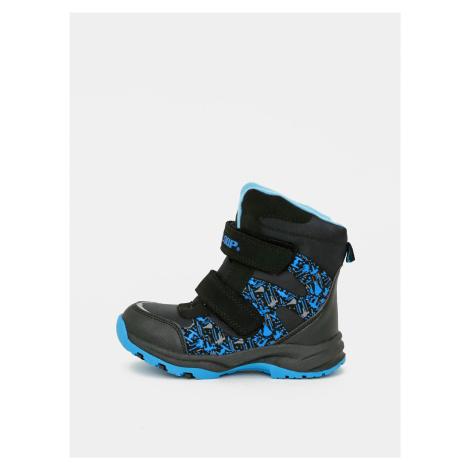 Modré chlapčenské zimné topánky LOAP
