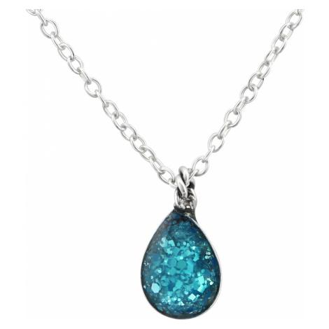 OLIVIE Strieborný náhrdelník SLZA 0969