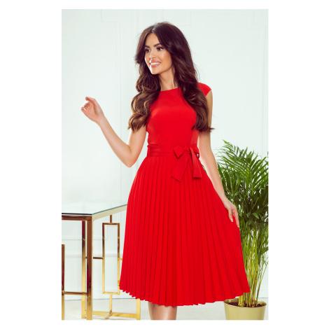 Dámske šaty 311-1 Lila NUMOCO