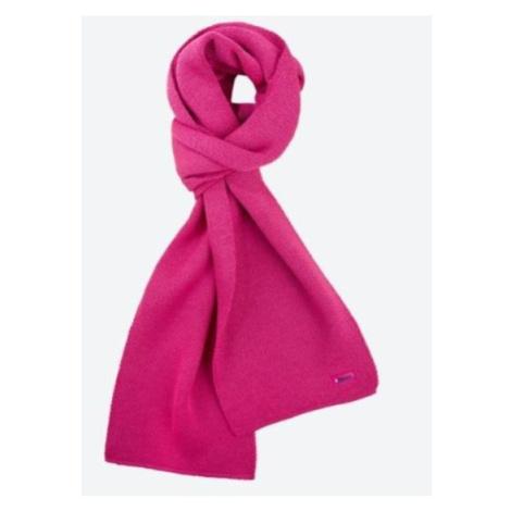 Pletená Merino šál Kama S22 114 ružová