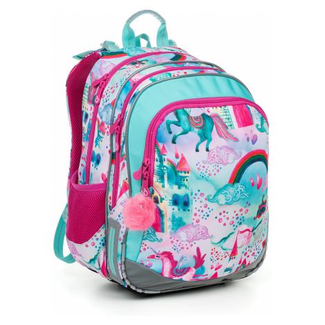 Školská taška Topgal ELLY 19004 G