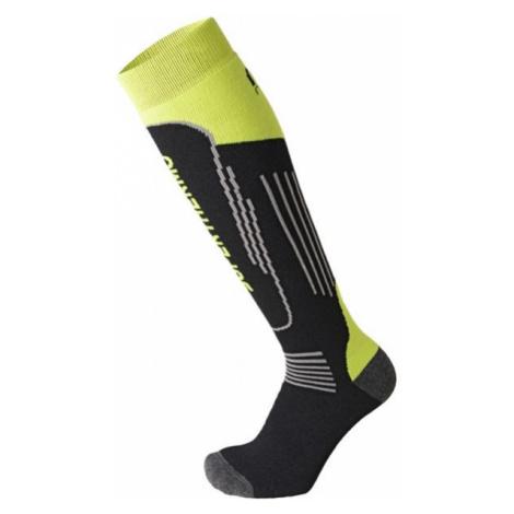 Mico SUPERTHERMO JR čierna - Detské lyžiarske ponožky