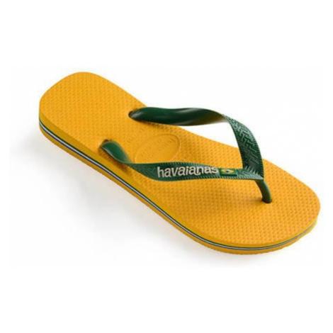 Havaianas Brasil Logo-BRA 45/46 žlté 4110850-1652-BRA 45/46