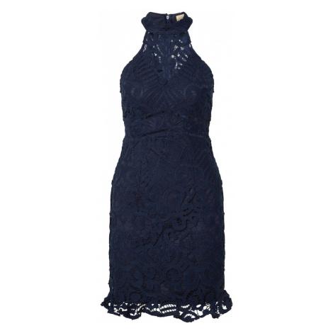 Love Triangle Kokteilové šaty 'Laetitia'  námornícka modrá