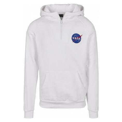Mister Tee Mikina 'NASA Chest'  biela / modrá / červená