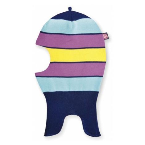 Detské pletená kukla Kama DB19 108 tmavo modrá