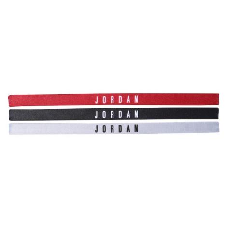 NIKE Accessoires Športová čelenka 'Jordan'  červená / čierna / biela