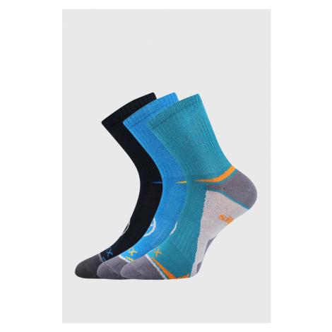 3 PACK chlapčenských ponožiek VOXX Opti viacfarebná