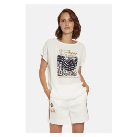 Tričko La Martina Woman T Shirt Viscose Voile