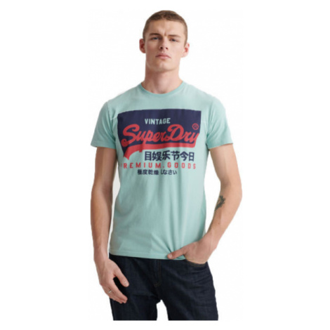 Superdry VL O TEE zelená - Pánske tričko
