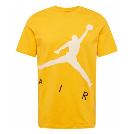 Jordan Tričko  žltá / biela / čierna