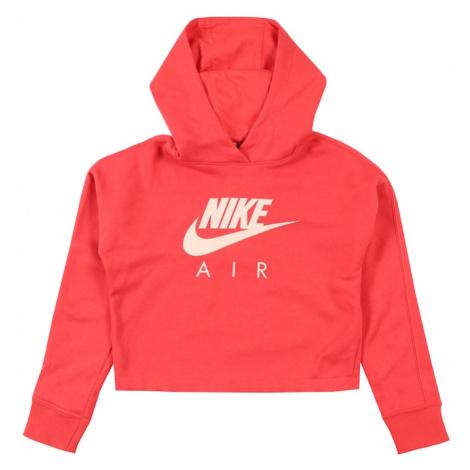 Nike Sportswear Mikina  červená / koralová