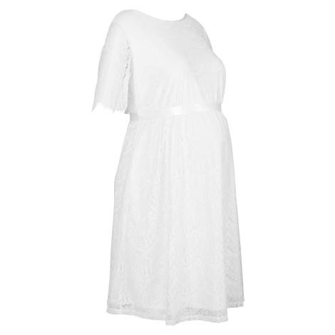 Biele tehotenské sukne a šaty