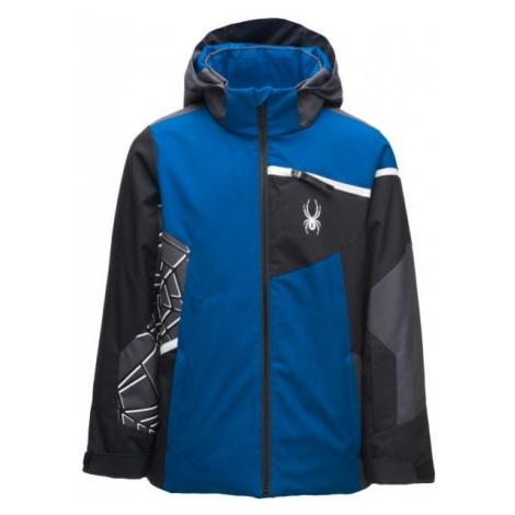 Spyder CHALLENGER JACKET modrá - Chlapčenská bunda