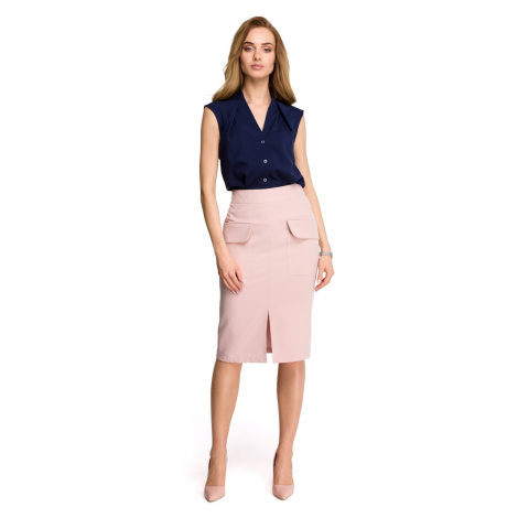 Stylove Woman's Skirt S103 Powder