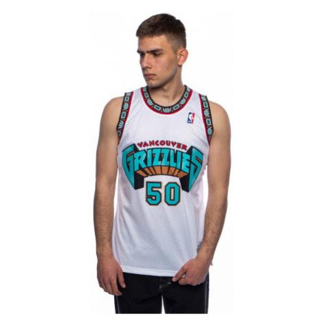 Mitchell & Ness Vancouver Grizzlies #50 Bryant Reeves white Swingman Jersey - Veľkosť:XL