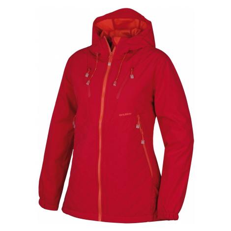 Husky Salex 18 sv. ružová, Dámska softshell bunda