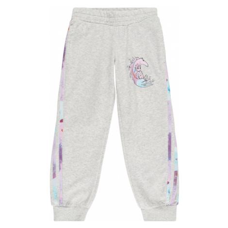 ADIDAS PERFORMANCE Športové nohavice 'Frozen'  svetlosivá / tyrkysová / ružová / pastelovo fialo