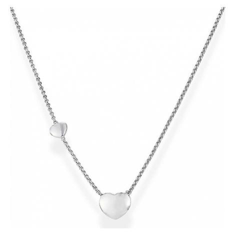 Amen Originálne strieborný náhrdelník Love CLGHB3