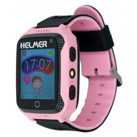 Helmer Smart dotykové hodinky s GPS lokátorom a fotoaparátom - LK ružové