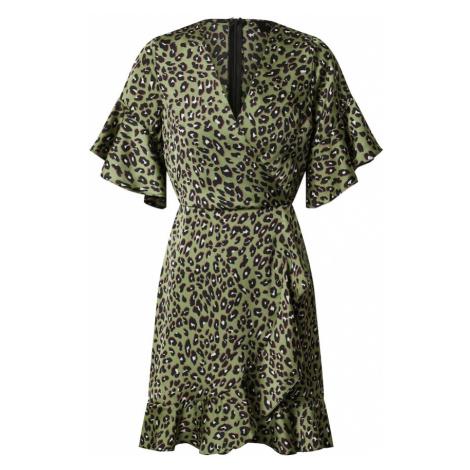 AX Paris Šaty  olivová