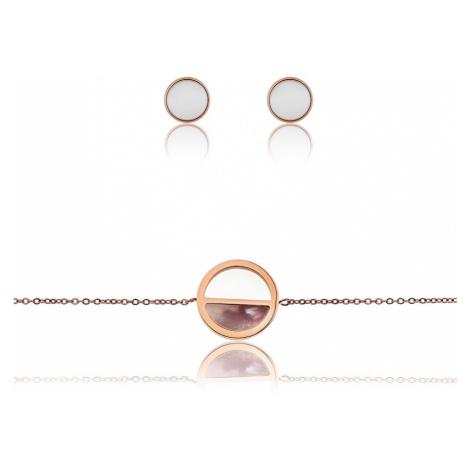 Emily Westwood Sada oceľových šperkov WS035R