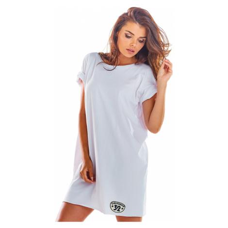 Biele šaty M210 Infinite You