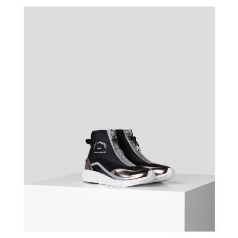 Členková Obuv Karl Lagerfeld Vitesse Knit Sock Zip