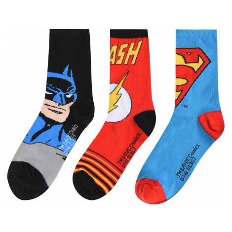 DC Comics Superman 3 Pack Crew Socks Junior
