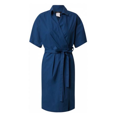 Weekend Max Mara Košeľové šaty 'AUSTIN'  tmavomodrá