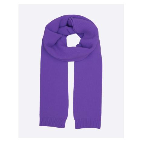 Colorful Standard Merino Wool Scarf Ultra Violet