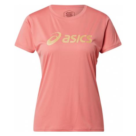 ASICS Funkčné tričko 'SAKURA'  ružová / žltá