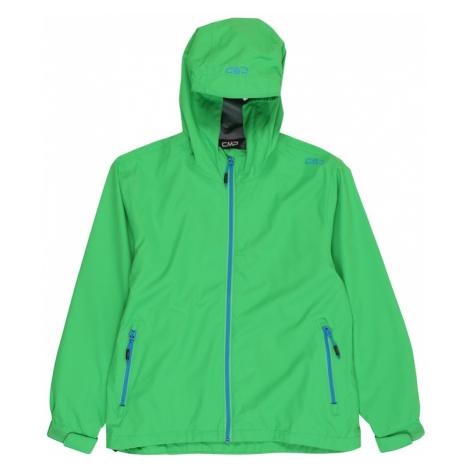 CMP Outdoorová bunda  zelená / modrá