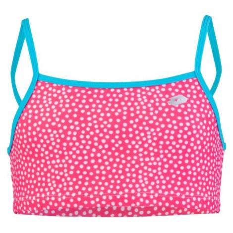 Lotto CLYRA ružová - Dievčenské dvojdielne plavky