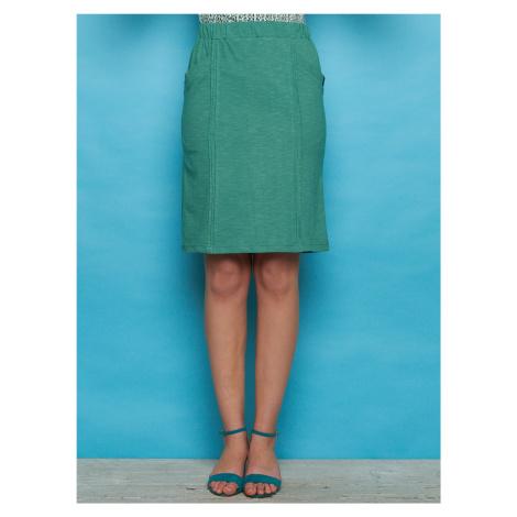Tranquillo zelená sukňa