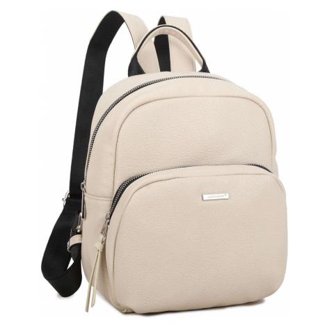 Dámsky ruksak béžovej farby