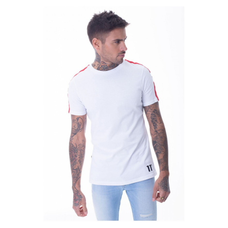 11 Degrees Southpaw T Shirt White/Red