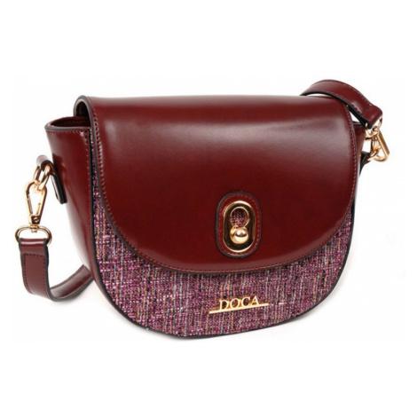 Červená lesklá kabelka – Glamour D . . A