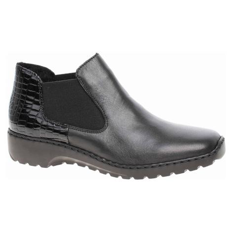 Dámská kotníková obuv Rieker L6090-02 schwarz L6090-02