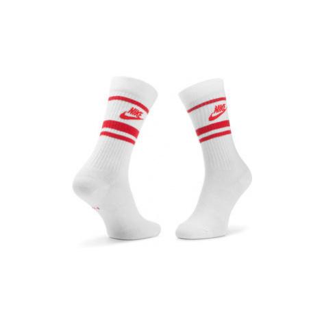 Nike Súprava 3 párov vysokých ponožiek unisex CQ0301 102 Biela