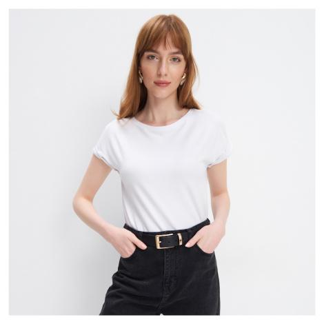 Mohito - Lesklé tričko - Biela