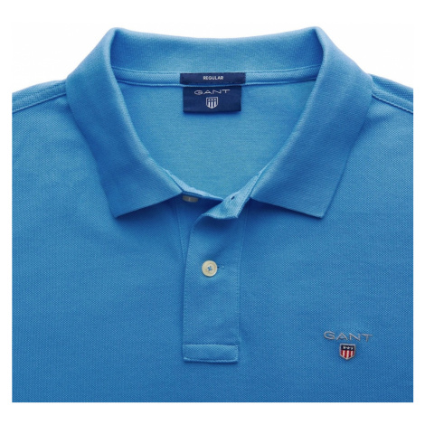 GANT Tričko  modrá / biela / námornícka modrá / ohnivo červená