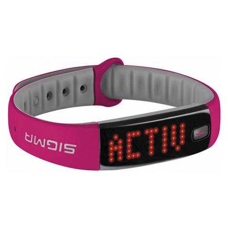 Sigma Fitness náramek Activo Pink - SLEVA