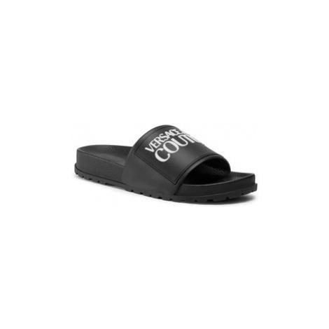 Versace Jeans Couture Šľapky E0VZASQ2 Čierna
