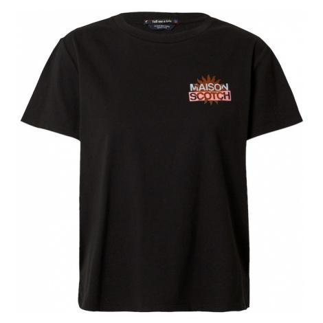 SCOTCH & SODA Tričko  čierna / zmiešané farby